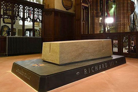 Richard lll burial place Leicester