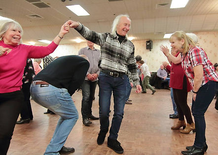 New Year barn dance at Kettering Athletic club