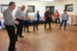 Fifty Plus members learning how to Charleston