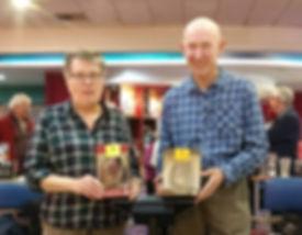 Tenpin-winners with prizers