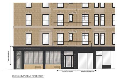SOHO Storefront Renovaton, Retail Renovation, Retail Design, Storefront Design