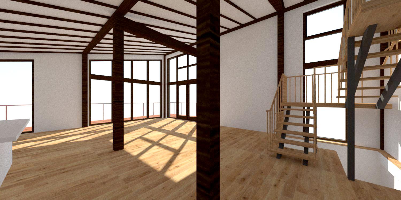 Interior View - Living Room