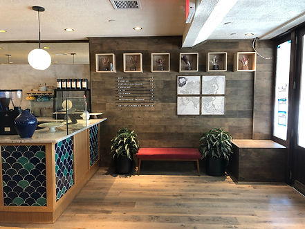 Restaurant Design, Coffee Shop Design, Baodega New York City