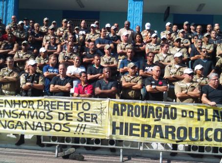 Guarda Municipal: greve é para resgatar dignidade