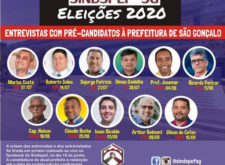 Sindspef vai entrevistar pré-candidatos à Prefeitura a partir de julho.