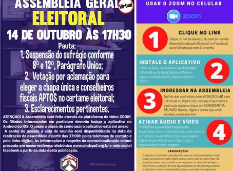 Convocação para Assembleia Geral Eleitoral