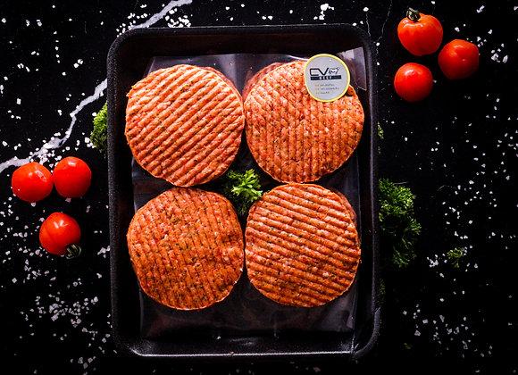 Black Angus Beef Burgers p/kg