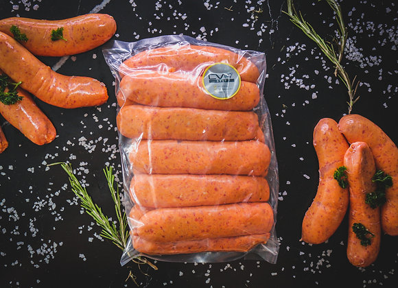 Thick Beef Sausages p/kg
