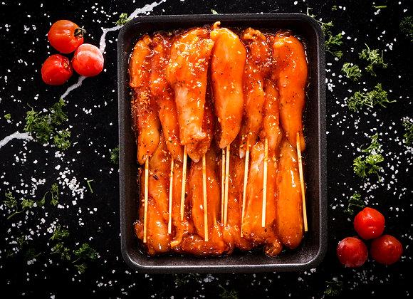Farm Fresh Chicken Breast Kebabs - Marinated p/kg