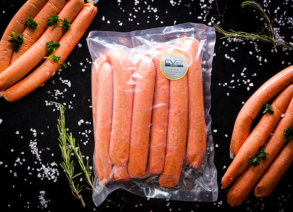 Thin Beef Sausages p/kg