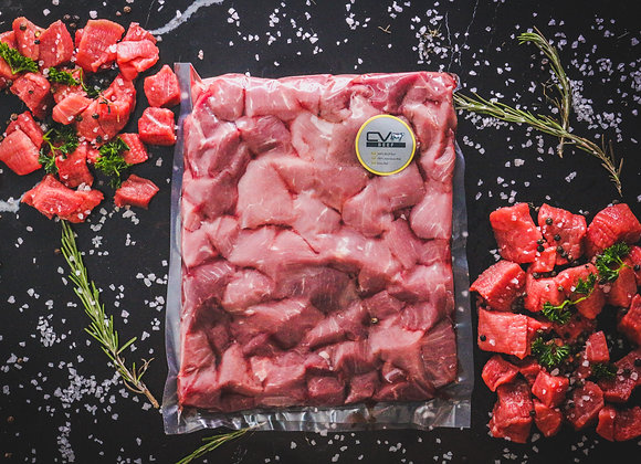 Diced Beef p/kg