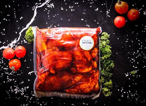 Farm Fresh Chicken Thigh Steaks Marinated p/kg
