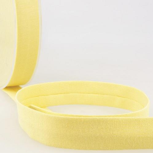 Biais Jersey jaune pale