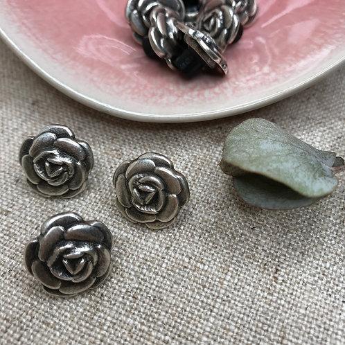 La rose argentée