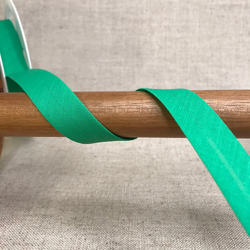 Biais polycoton Vert