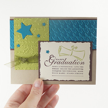 Congratulations On Your Graduation Teal Card