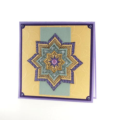 Star Lavendar  Limited Edition Square Series
