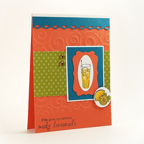 Friendship Lemonade Card