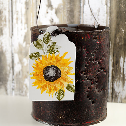Sunflower Gift Tags Set of 10