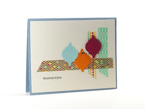 Thinking Of You Multi Mosaics Card