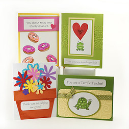 Teacher Appreciation Cute Puns Cards