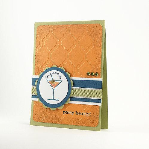 Handmade Birthday Wishes Card