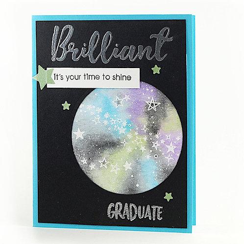 hadmade graduation greeting card