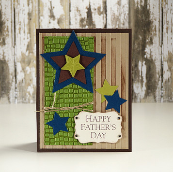 Fathers Day Stars Card