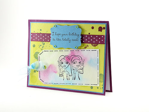 Wishing Your Birthday Is Totally Cool Card
