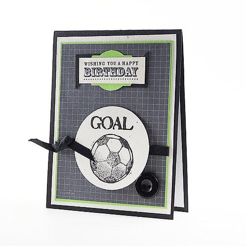 Happy Birthday Soccer Card