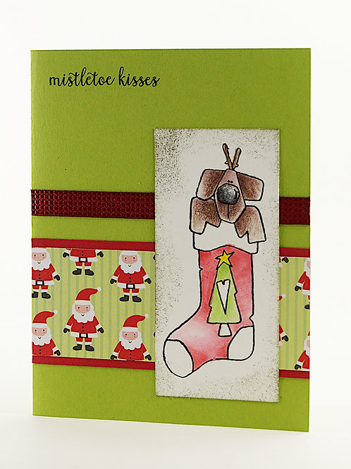 handmade christmas card littlelu4u