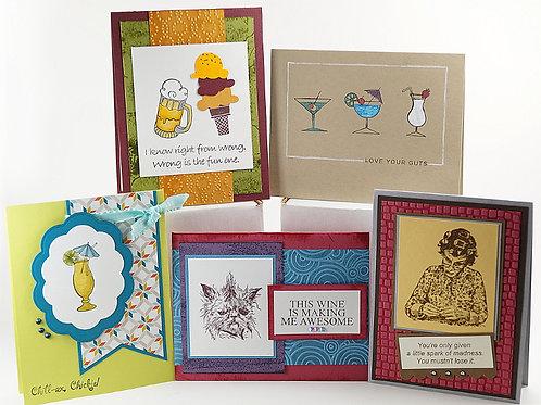 Sassy & Funny Variety 5 Card Set