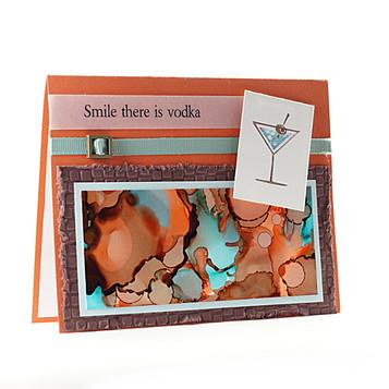 Smile There Is Vodka Martini Multi Card