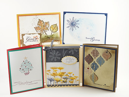 Seasonal Greeting Card Set 5