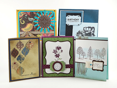 Birthday Card Set 5 Set 321