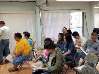 2018년 11월 3일 토요모임 / 11/3/2018 Saturday Meeting