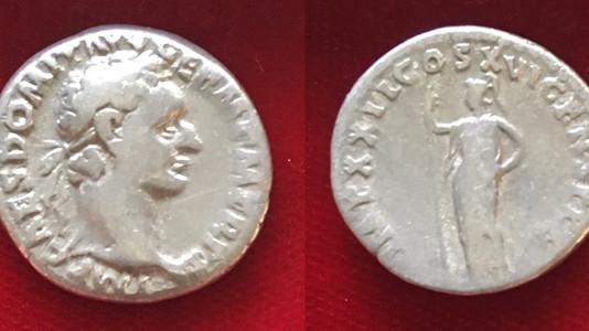 Domitian AR Denarius 92 CE (Second Issue)