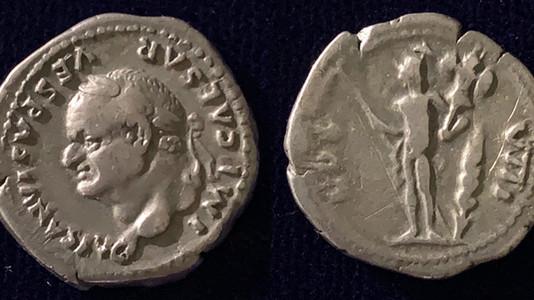 Vespasian AR Denarius 77-78 CE                                     RIC 940