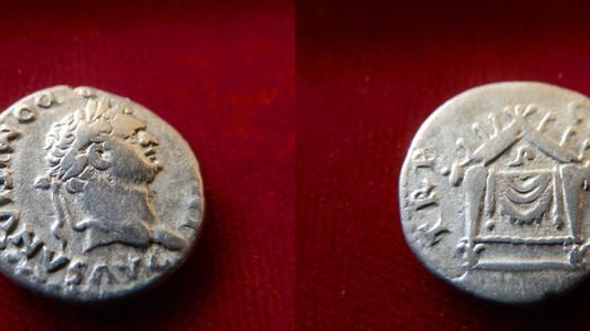 Domitian Denarius 81-96 CE