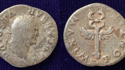 Vespasian AR Denarius 74 CE                                              RIC 686