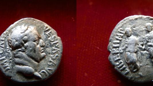 Vespasian Denarius 69-70 CE
