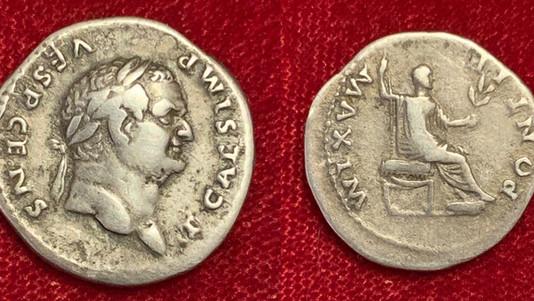 Titus as Caesar AR Denarius 73 CE                                  RIC 554 [Vespasian]