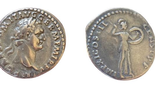 Domitian AR Denarius 86 CE         First Issue