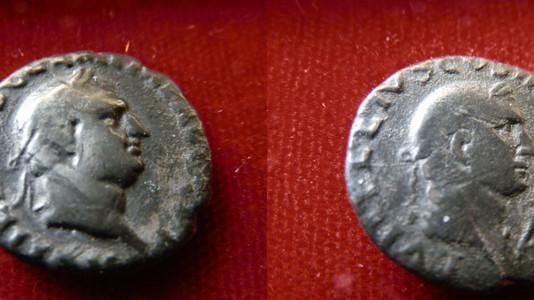 Vitellius Denarius 69 CE