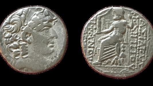 Augustus AR tetradrachm