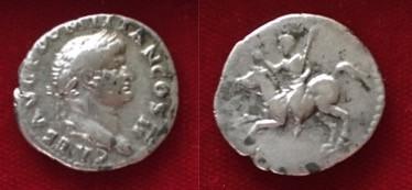 Domitian AR Denarius 73 CE