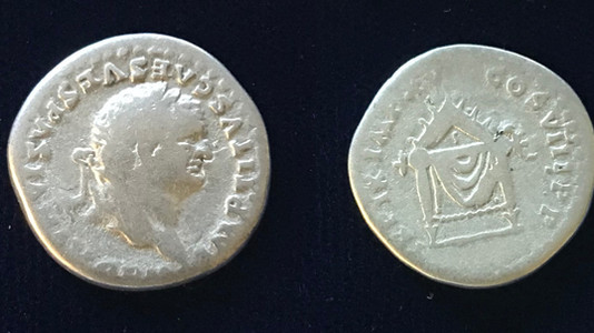 Titus AR Denarius 80 CE         January 1 - June 30