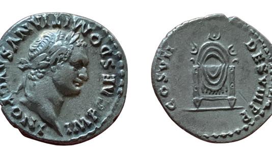 Domitian AR Denarius 81 CE Group 3                               RIC 31