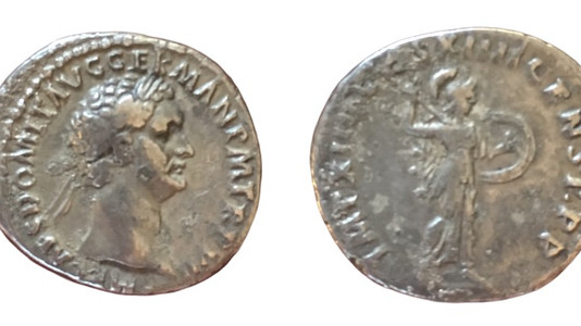 Domitian AR Denarius 88 CE        First Issue