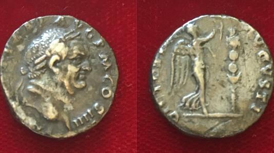 3 Vespasian Denarii with an interesting provenance